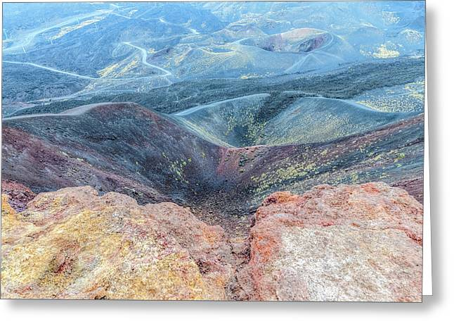 Etna - Sicily Greeting Card by Joana Kruse