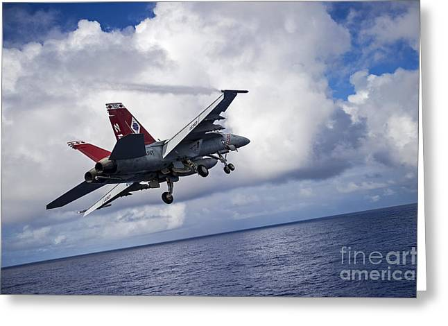 Fighter-jet Greeting Card by Celestial Images