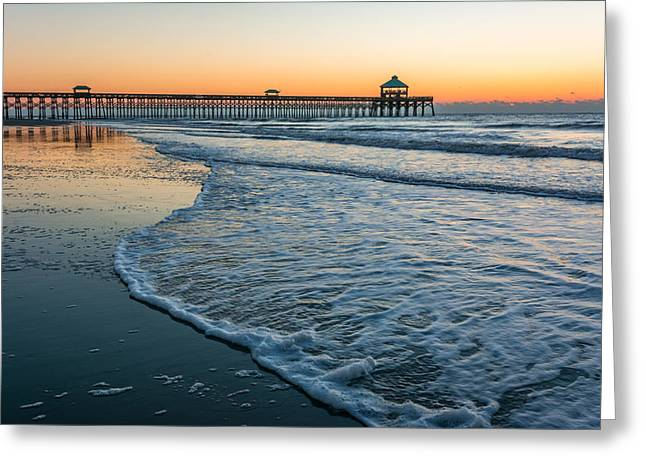 Folly Beach Greeting Card