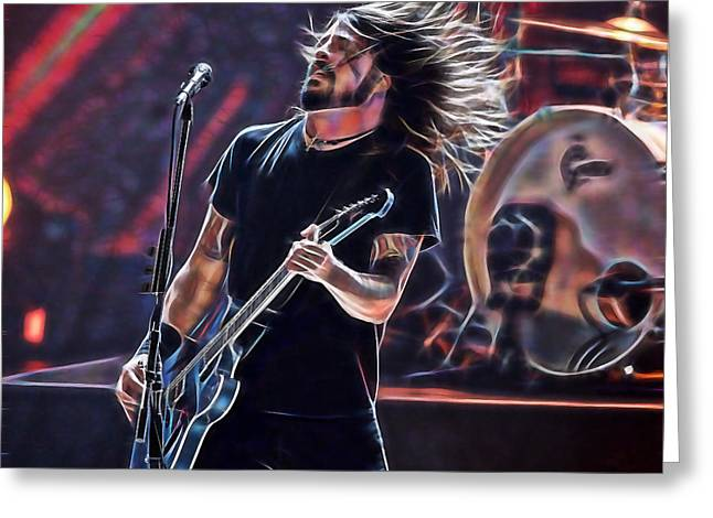 Foo Fighters Collection Greeting Card