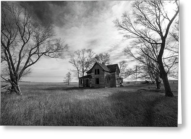 Greeting Card featuring the photograph Forgotten  by Aaron J Groen
