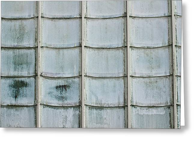 Glass Tiles Greeting Card by Tom Gowanlock