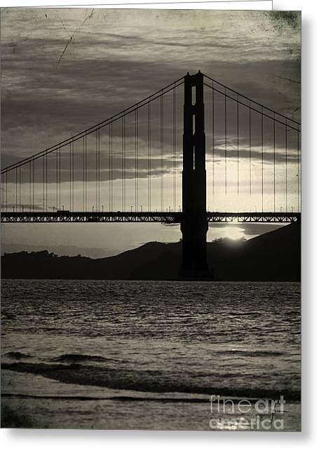 Golden Gate Bridge In San Francisco Greeting Card by ELITE IMAGE photography By Chad McDermott