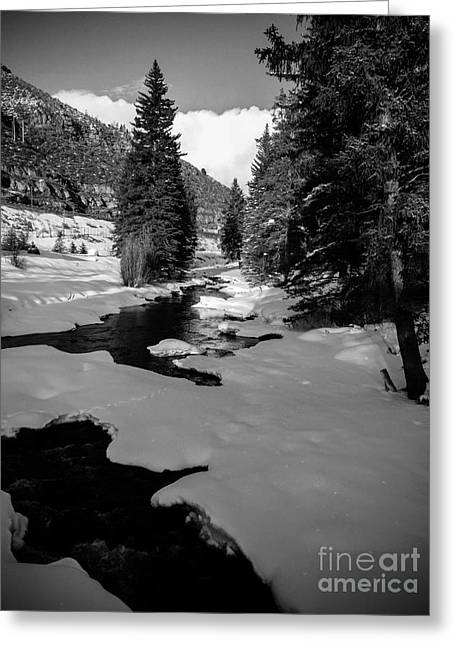 Gore Creek Greeting Card