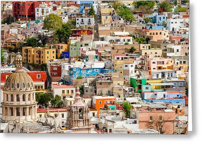 Guanajuato, Mexico. Greeting Card