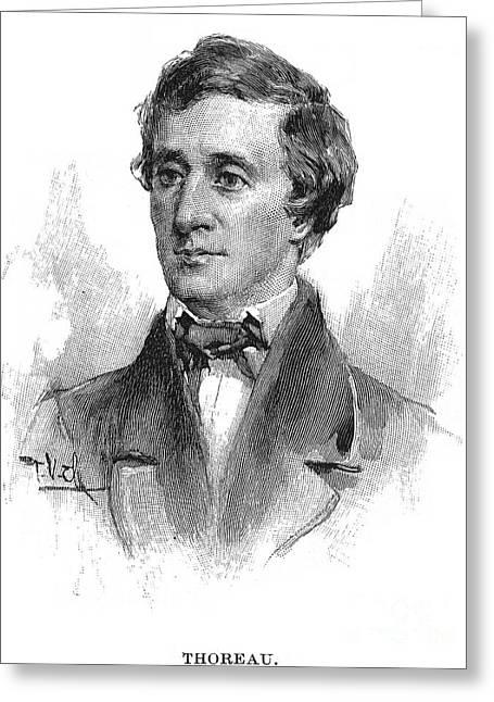 Henry David Thoreau Greeting Card by Granger