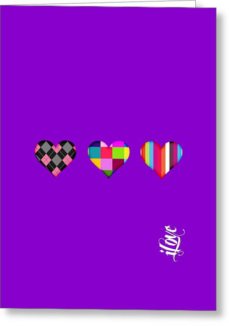 iLove Collection Greeting Card