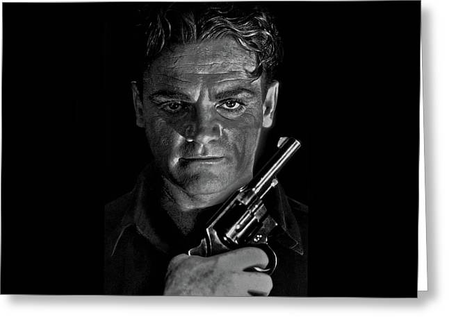 James Cagney - A Study Greeting Card