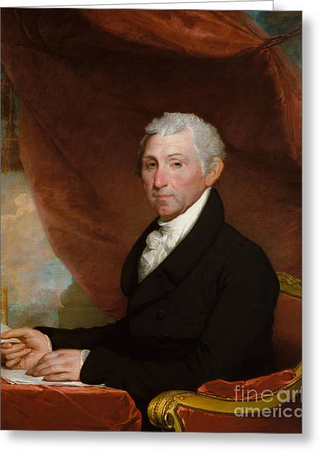 James Monroe Greeting Card