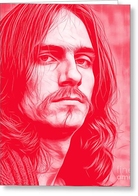 James Taylor Collection Greeting Card by Marvin Blaine