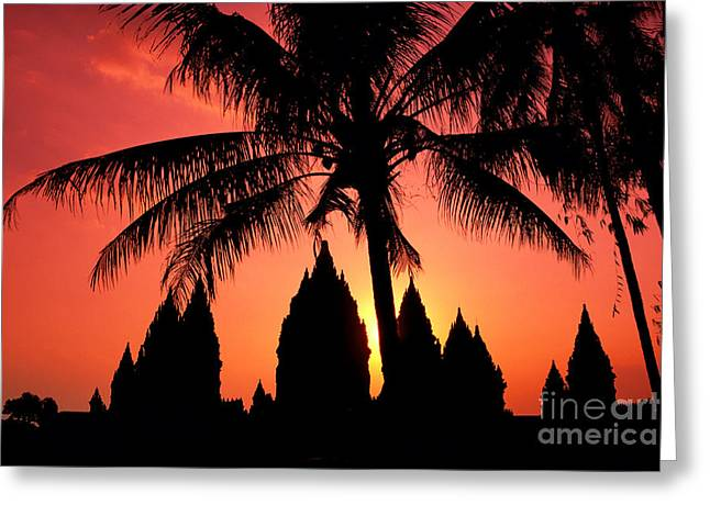 Java, Prambanan Greeting Card by Gloria & Richard Maschmeyer - Printscapes