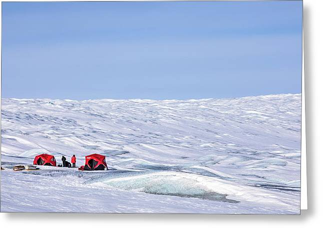 Kangerlussuaq - Greenland Greeting Card by Joana Kruse