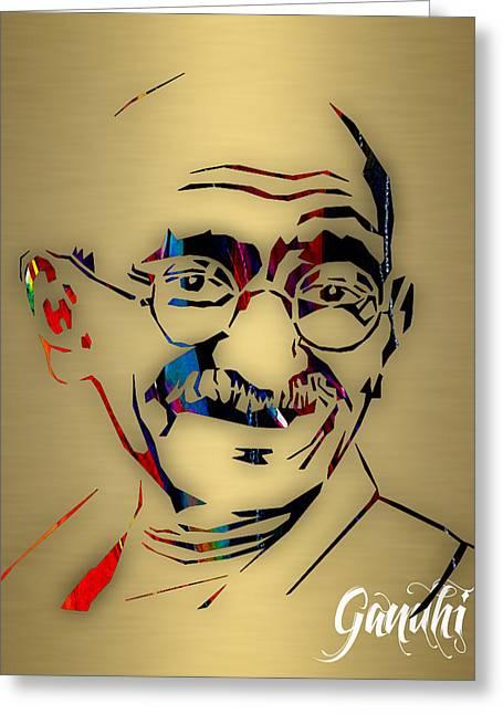 Mahatma Gandhi Collection Greeting Card