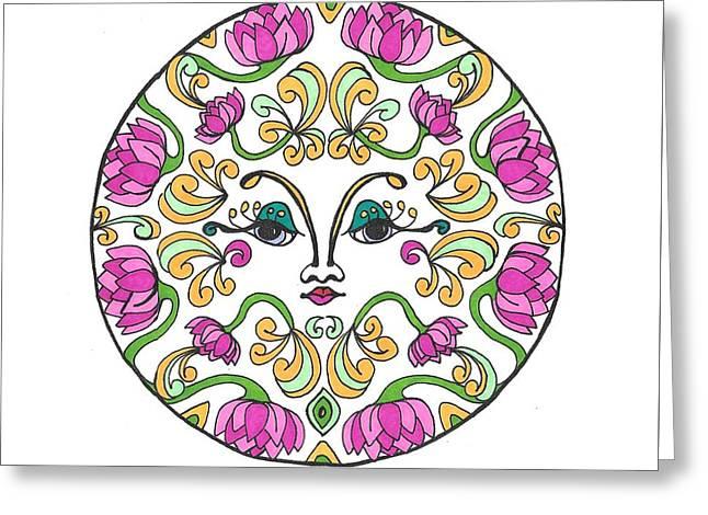 Lotus Princess Greeting Card
