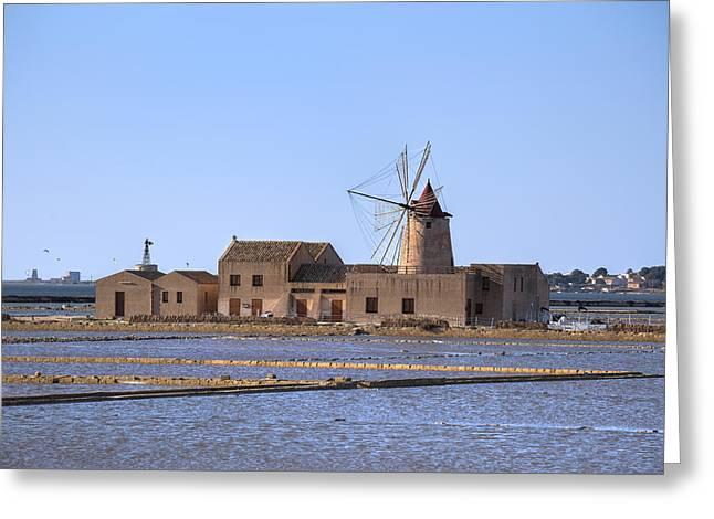 Marsala - Sicily Greeting Card by Joana Kruse