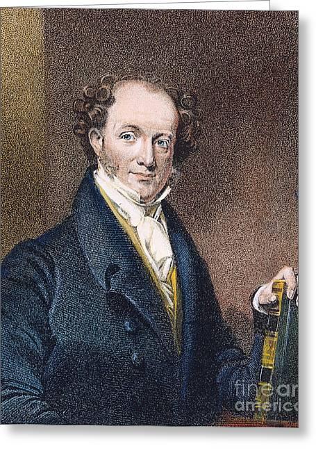 Martin Van Buren (1782-1862) Greeting Card by Granger