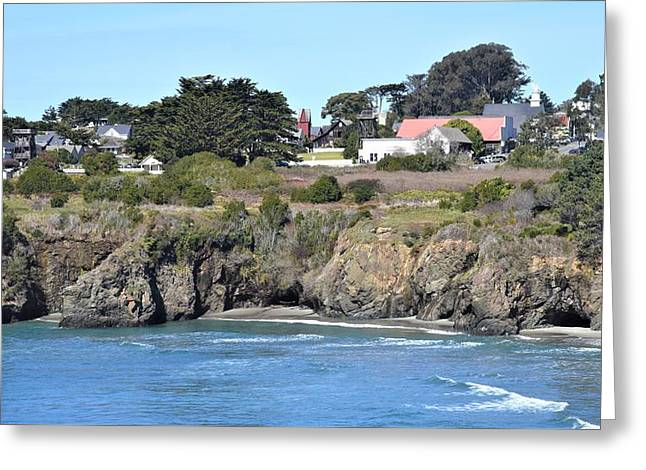Mendocino Greeting Card