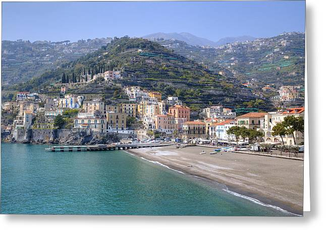 Minori - Amalfi Coast Greeting Card