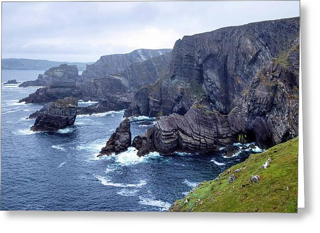 Mizen Head - Ireland Greeting Card by Joana Kruse