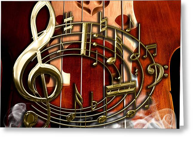 Musical Collection Greeting Card