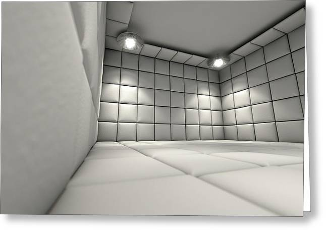 Padded Cell Greeting Card