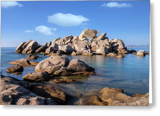 Palombaggia Beach - Corsica Greeting Card