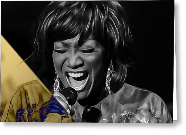 Patti Labelle Collection Greeting Card by Marvin Blaine