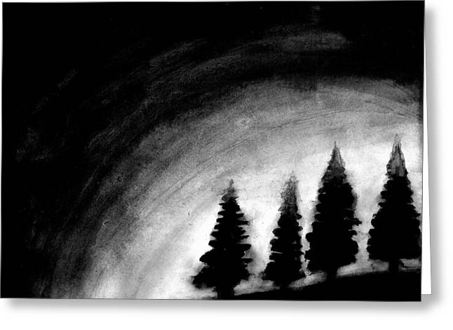 4 Pines Greeting Card