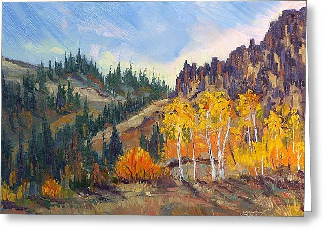 Plein Air Series Greeting Card by Len Sodenkamp