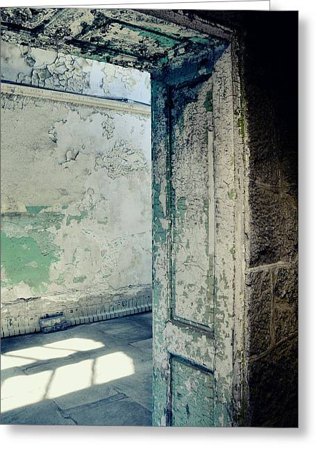 Prison Light And Shadows Greeting Card by JAMART Photography