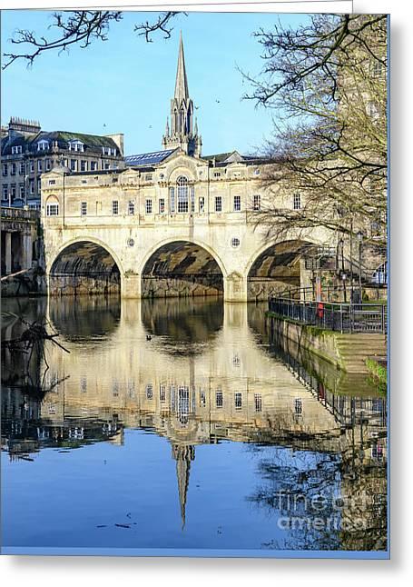 Pulteney Bridge, Bath Greeting Card