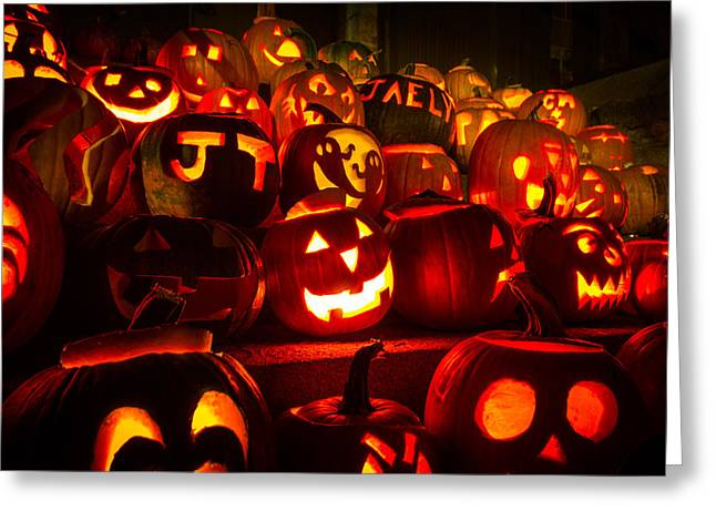 Pumpkinfest 2015 Greeting Card