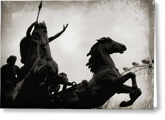 England's Queen Boudica  Greeting Card by JAMART Photography