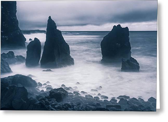 Reykjanesta - Iceland Greeting Card by Joana Kruse