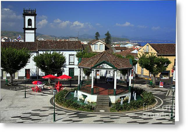 Ribeira Grande - Azores Greeting Card by Gaspar Avila
