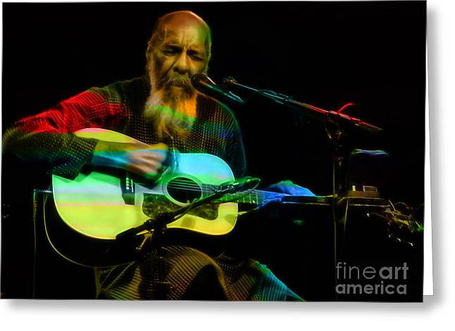 Richie Havens Collection Greeting Card