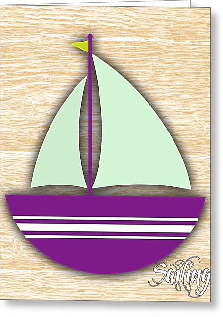 Sailing Collection Greeting Card