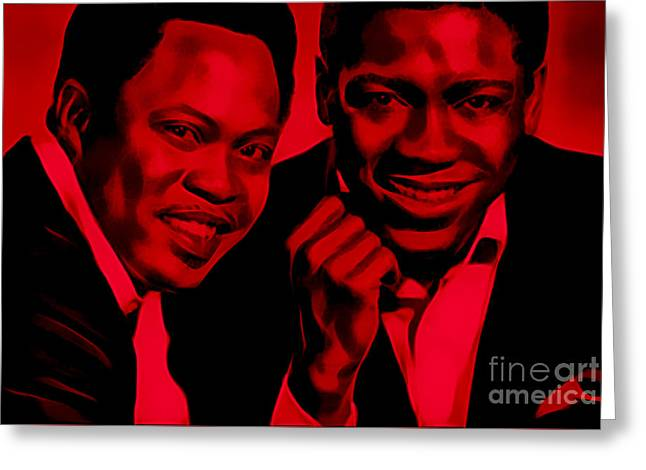 Sam And Dave Collection Greeting Card by Marvin Blaine