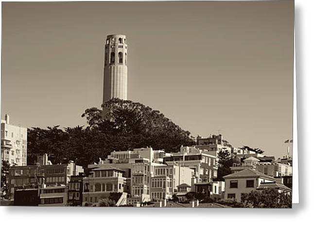 San Francisco Icons Greeting Card by Mountain Dreams