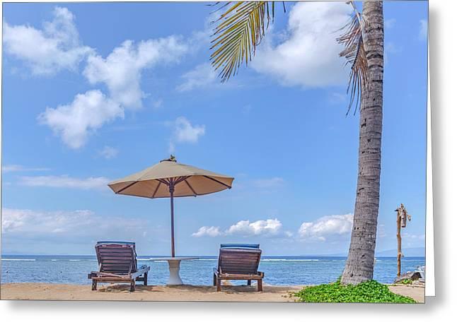 Sanur Beach - Bali Greeting Card