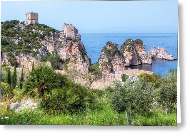 Scopello - Sicily Greeting Card