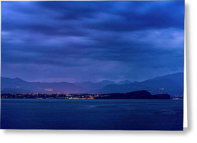 Greeting Card featuring the photograph Sirmione by Traven Milovich