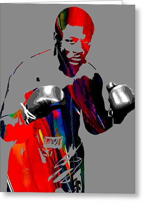 Smokin Joe Frazier Collection Greeting Card by Marvin Blaine