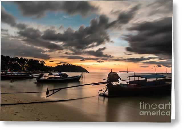 Sunset Over Koh Lipe Greeting Card