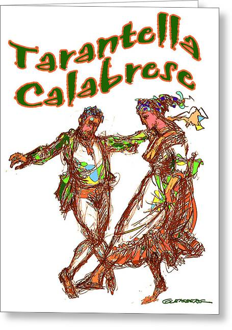 Tarantella Calabrese Greeting Card