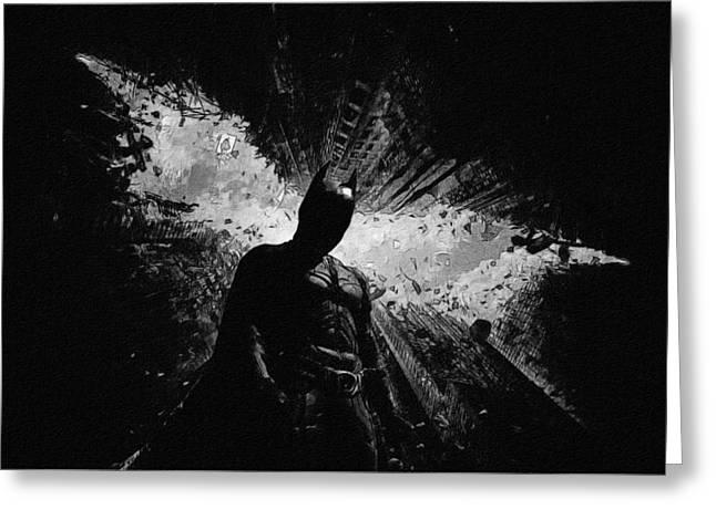 The Batman Poster Greeting Card
