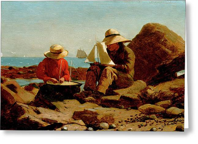 Winslow Homer Greeting Cards | Fine Art America