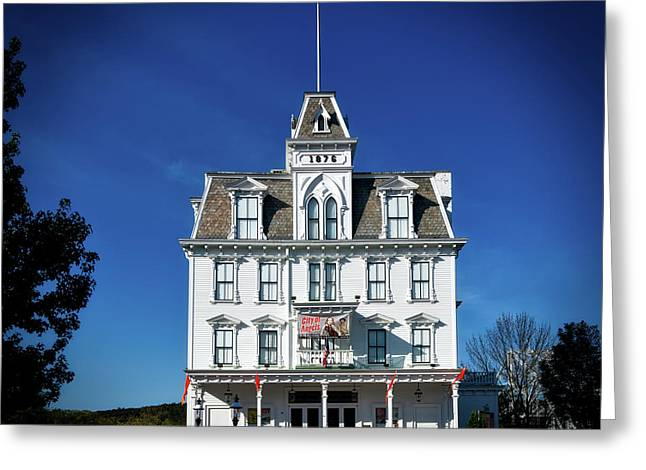 The Goodspeed Opera House Greeting Card by Mountain Dreams