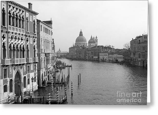 The Grand Canal In Venice Greeting Card