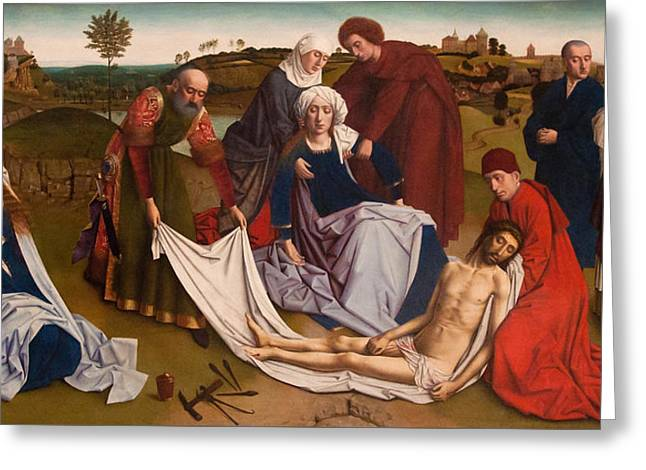 The Lamentation Greeting Card
